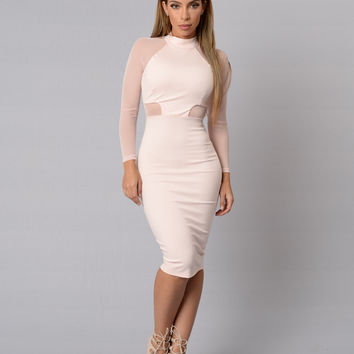 Sabine Dress - Blush