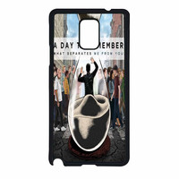 A Day To Remember Sand Watch Master Samsung Galaxy Note 4 Case