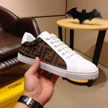 Fendi Women Men New Fashion Casual Shoes Sneaker Sport Running Shoes