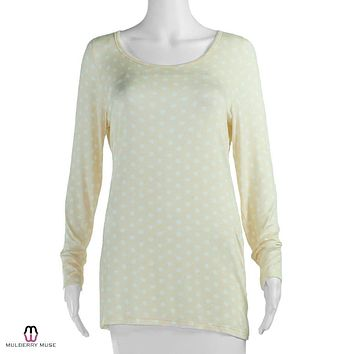 Polka Dot Long Sleeve Tee