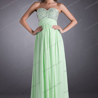 Charming Floor Length Prom Dress / Graduation Dresses/bridesmaid dress