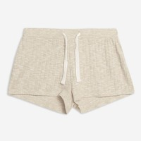 Soft Ribbed Lounge Shorts | Topshop