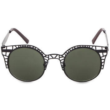 Paolo Chic Sunglasses in Black