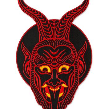 Krampus Demon Large Back Patch