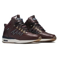 HR-1 // DARK BROWN / DARK NAVY HYBRID SNEAKERS