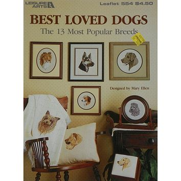 Best Loved Dogs - Counted Cross Stitch Leaflet - Leisure Arts