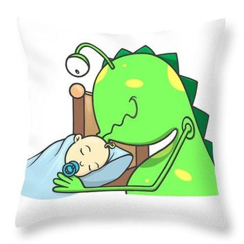 Peter And The Closet Monster, Kiss - Throw Pillow
