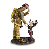 Fireman and Mickey Mouse Figurine | Disney Store