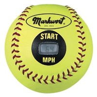 Markwort Speed Sensor Yellow Cover Softball (12-Inch)
