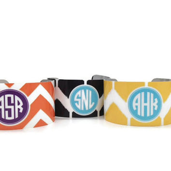 Monogram Bracelets  by Mad for Monograms Design Your Own Personalized Bracelet
