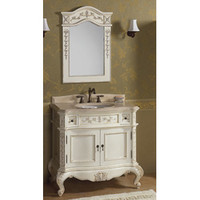 "Ronbow Vintage Bordeaux 38"" Bathroom Vanity Set"