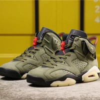"Air Jordan 6 x Travis Scott ""Gold Digger"""