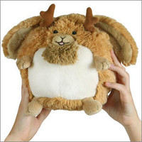 Squishable Jackalope: An Adorable Fuzzy Plush to Snurfle and Squeeze!