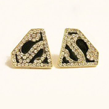 Superman Stud Earrings