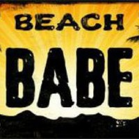 Beach Babe Car Truck License Plate Tag