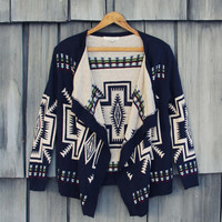 Snowy Forest Knit Sweater
