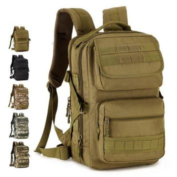 DCCK7N3 Protector Puls Hot 25L Military Tactical Backpack Rucksacks Men Camouflage Outdoor Sports Bag Camping Hiking Bags 2017 D001