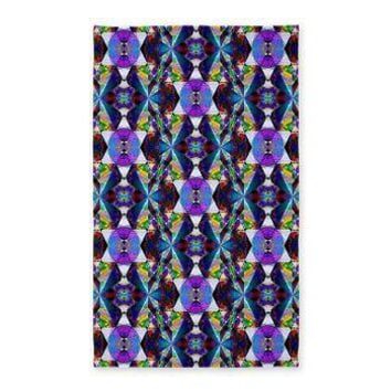 Honeycomb 1 D 3'x5' Area Rug> Honeycombs> The Art Works and Image Factory