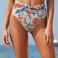 Salero Swim Wrap Front Bikini Bottom at PacSun.com