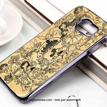 Disney Walt Samsung Galaxy S6 and S6 Edge Case