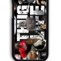 HTC One M8 Case - Hard (PC) Cover with 2pac tupac THUG LIVE Plastic Case Design
