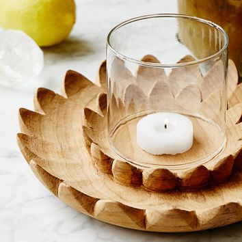 Free People Small Lotus Votive Holder