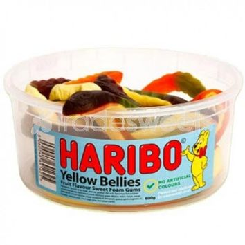 Haribo Giant Yellow Belly Snakes - 1.5Ltr Tub