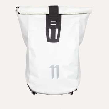 VELOCITY Messenger Backpack in White - SS15 11 by Boris Bidjan Saberi