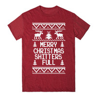 Merry Christmas Shitters Full Funny Ugly Sweater