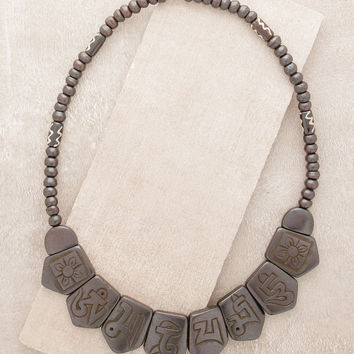 Tibetan Mantra  Necklace