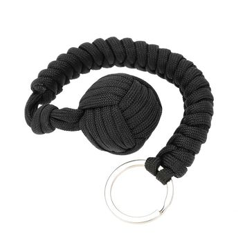 Military Self-Rescue Survival Bracelet Emergency Paracord Rope Parachute Cord Emergency Key Ring Kit Camping Hiking Tool