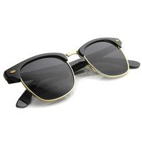 Vintage Frame Horned Rim Sunglasses