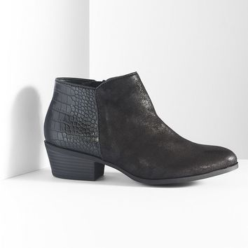 Simply Vera Vera Wang Ankle Boots - Women (Black)