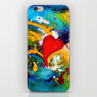 Passion iPhone Skin by mariameesterart