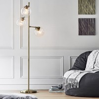 Glass Spotlight Floor Lamp