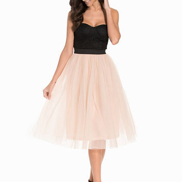 Bustier Tutu Midi Dress, Rare London