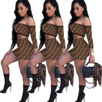 FENDI Two Pieces TOP BOTTOM