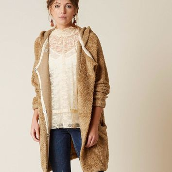 Free People Warm Wishes Sweater Jacket