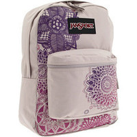 JanSport Super FX Forge Grey/Multi Sparkle Daze - 6pm.com