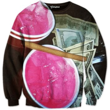 Codeine Blunt Money Crewneck