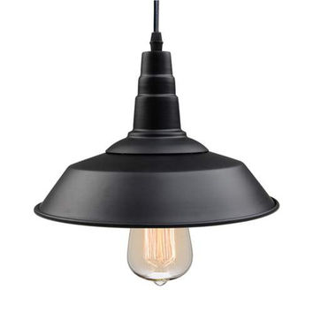 LNC Black Pendant Lighting, Indoor Ceiling Lights Hanging Lamp