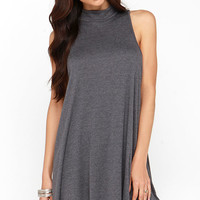And the Livin's Easy Grey Swing Dress