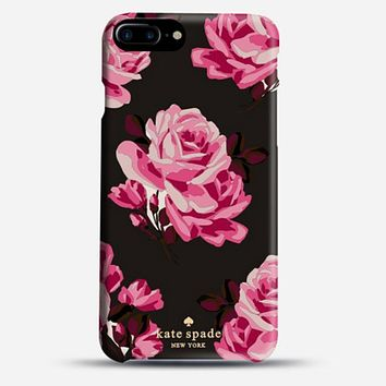 Kate Spade Hot Sale Popular Couple Phone  Case For iPhone 7 iPhone 7 plus iphone 6 6s 6plus 6s plus Black