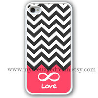 chevron iphone 4 case, infinity iphone 4 case, Forever love iphone 4 case, white iphone 4s case