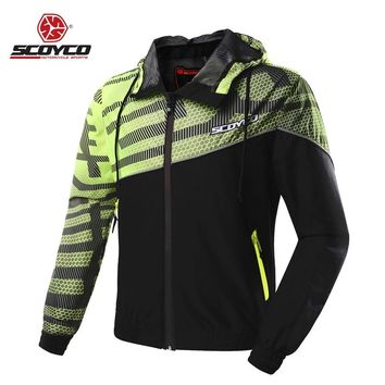 Motorcycle Clothes Men Moto Jackets Jerseys Casual Urban Dust Coat Reflective Motobike Motocross Racing Protective Protection