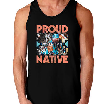 Proud Native American Dark Loose Tank Top