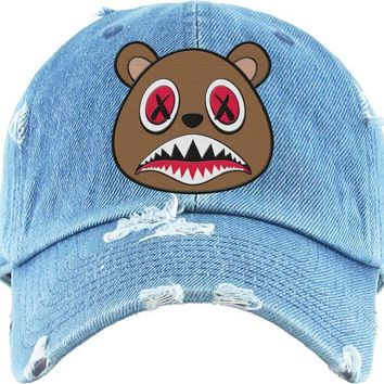 Cinnamon Baws Light Denim Dad Hat