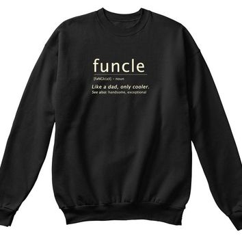 Mens Funcle Definition Shirt Funny Gift For Uncles   Mens Premium T Shirt