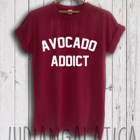 avocado addict shirt avocado shirt avocado lover funny food tshirt nachos shirts funny instagram tshirts unisex size