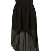 Chiffon Mullet Dress by Rare** - View All - Dresses  - Clothing - Topshop